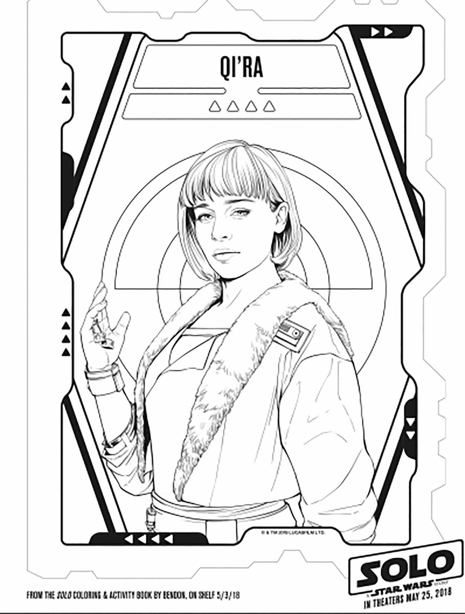 Star Wars coloring page to print and color