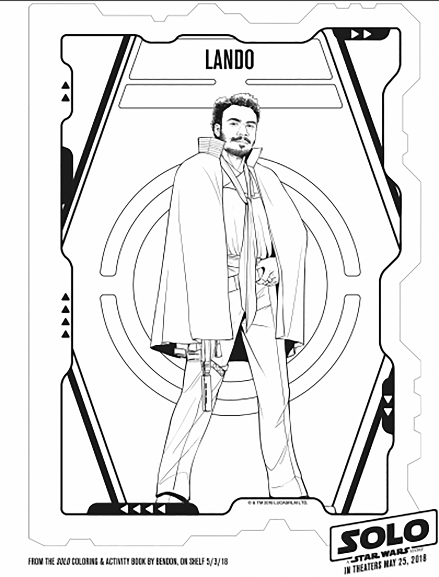 Download Star wars to download - Star Wars Kids Coloring Pages