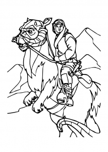 Coloring page star wars to download for free