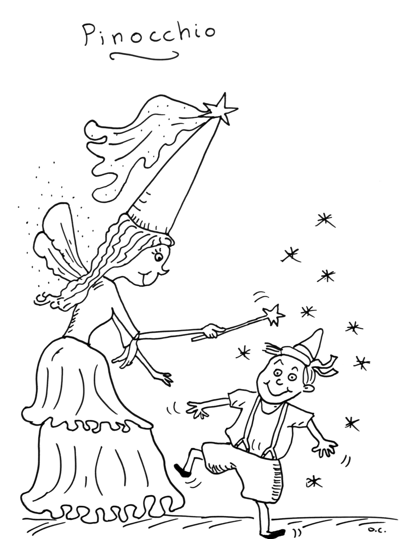 Simple Tales coloring page