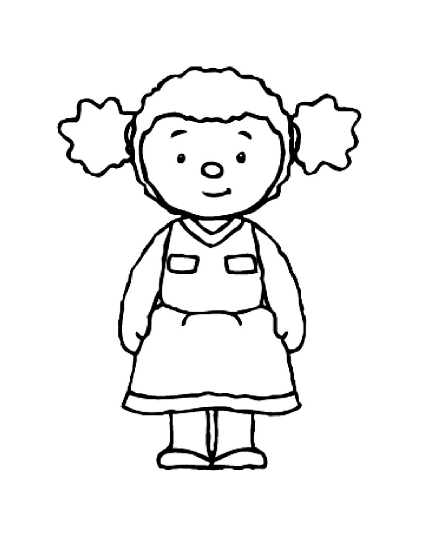 Tchoupi to download - Tchoupi Kids Coloring Pages