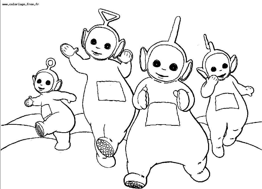 Teletubbies Coloring Books
