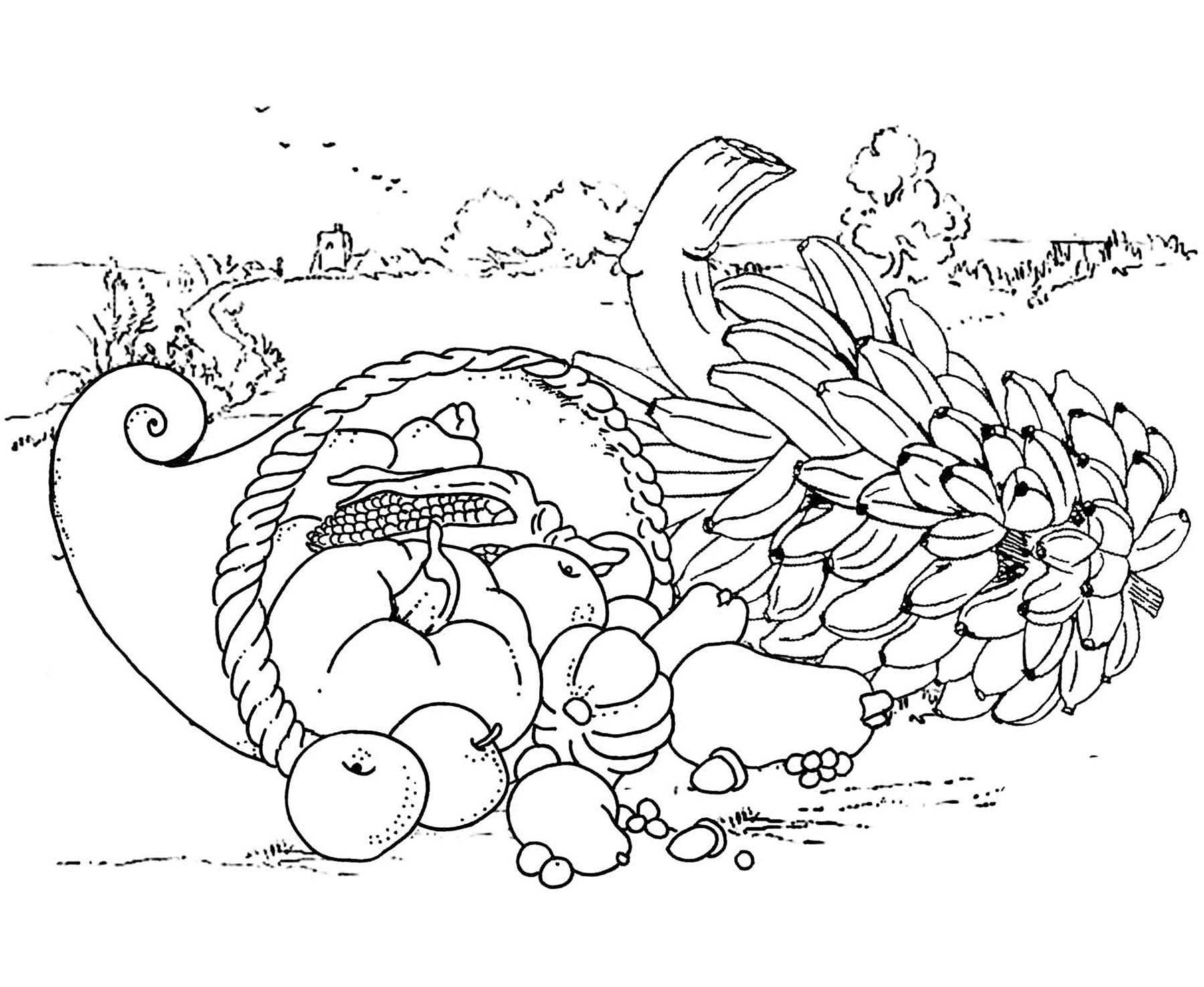 Plump Thanksgiving Turkey Coloring Page | Thanksgiving coloring ... | 1476x1800