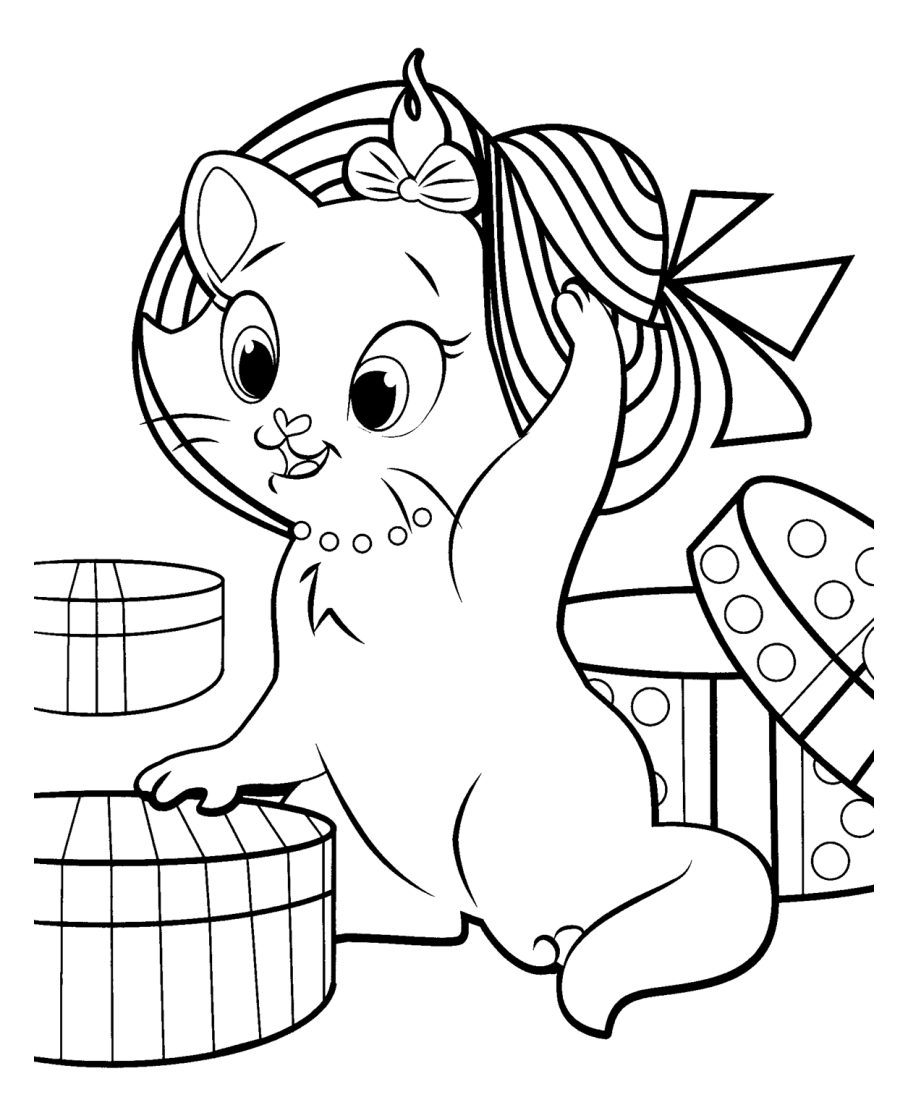 The Aristocats coloring page to print and color