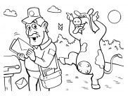 The Barnyard Coloring Pages for Kids