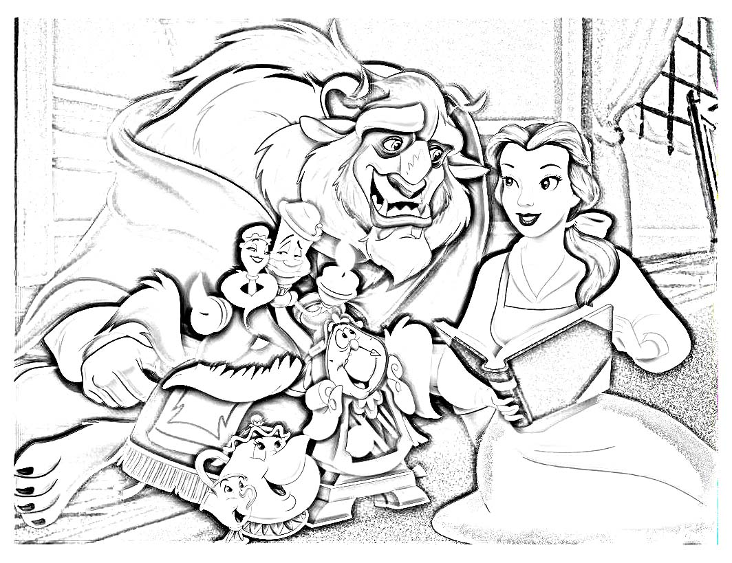 Sleeping Beauty coloring pages on Coloring-Book.info | 819x1064