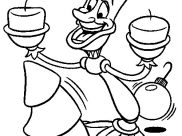 The Beauty And The Beast Coloring Pages for Kids