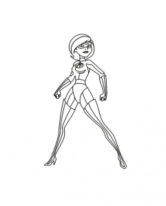 Coloring page the incredibles to print