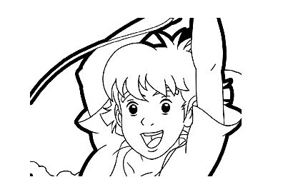 Simple The Mysterious Cities Of Gold coloring page for kids