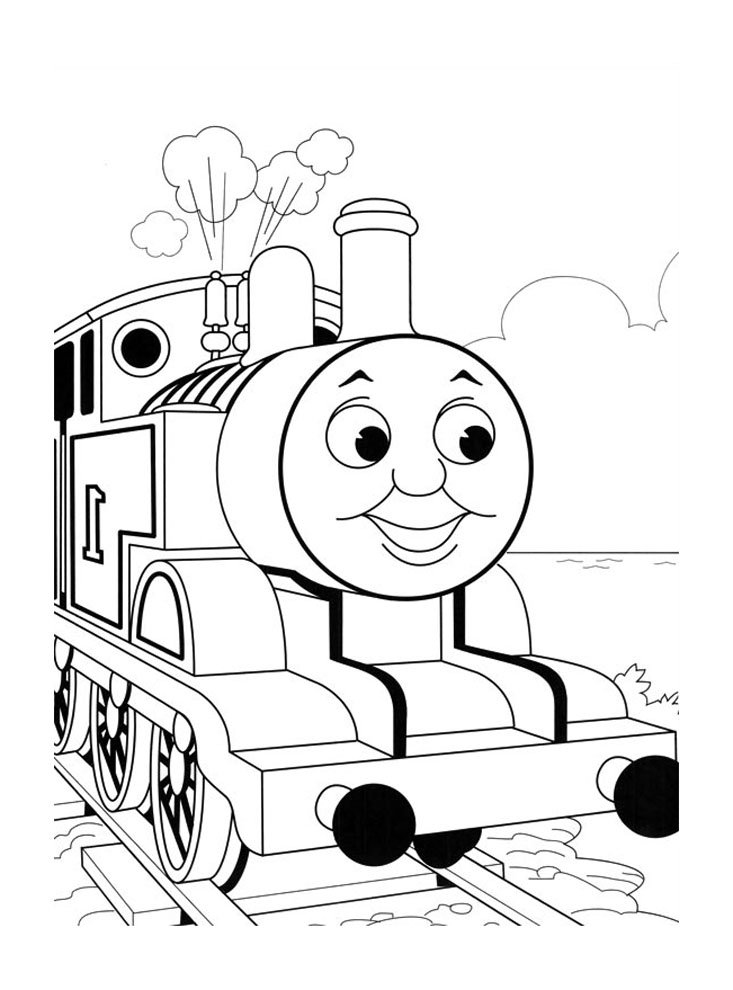 - Thomas And Friends For Kids - Thomas And Friends Kids Coloring Pages