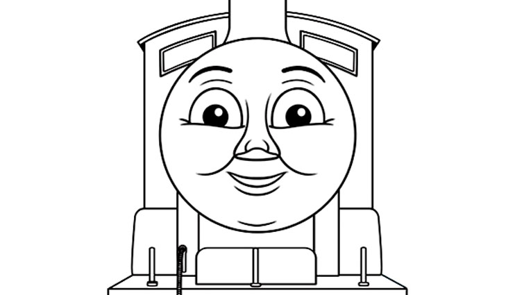 Thomas And Friends coloring page to download