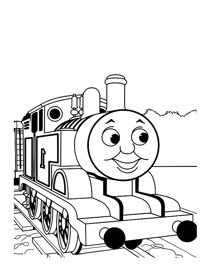 Thomas And Friends Free To Color For Kids Thomas And