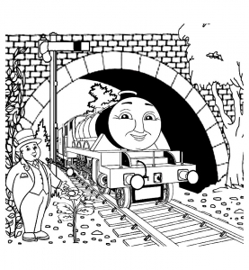New Coloring | Thomas Coloring Pages To Print | Kids Coloring | 300x277