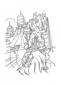 Coloring page thor to print for free