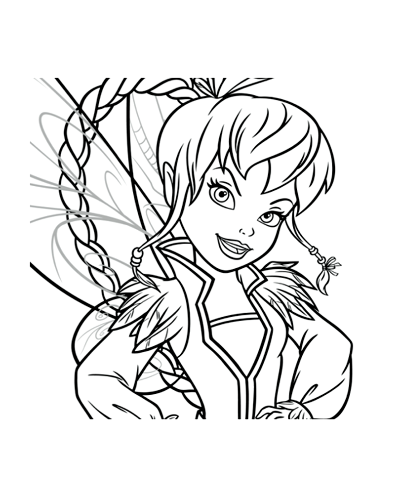 Tincker Bell coloring page to download