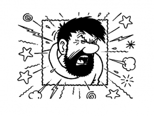 Coloring page tintin to download