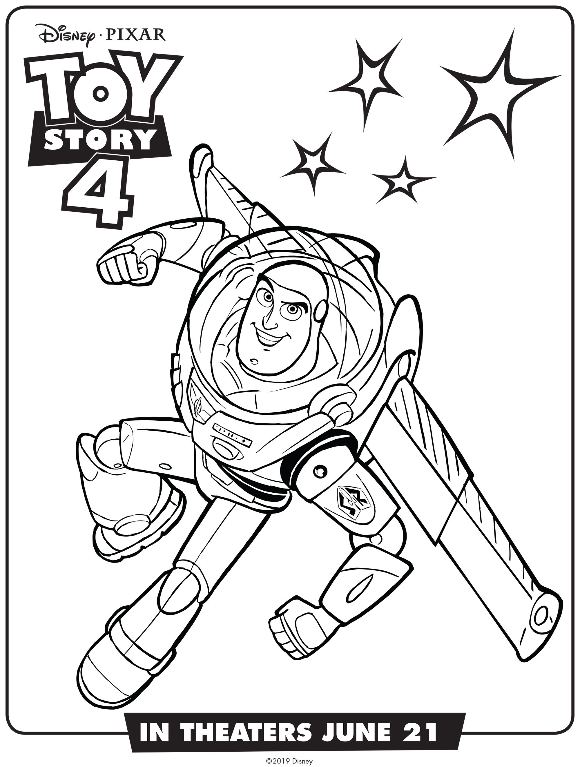 Toy Story Coloring Pages + Toy Story of Terror | 2645x2000