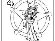 Toy Story 4 Coloring Pages for Kids