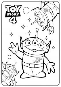 Bo Peep : Toy Story 4 coloring page (Disney / Pixar)