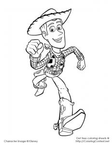 Woody running