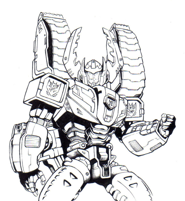 - Transformers To Color For Children - Transformers Kids Coloring Pages