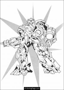 Coloring page transformers to print for free