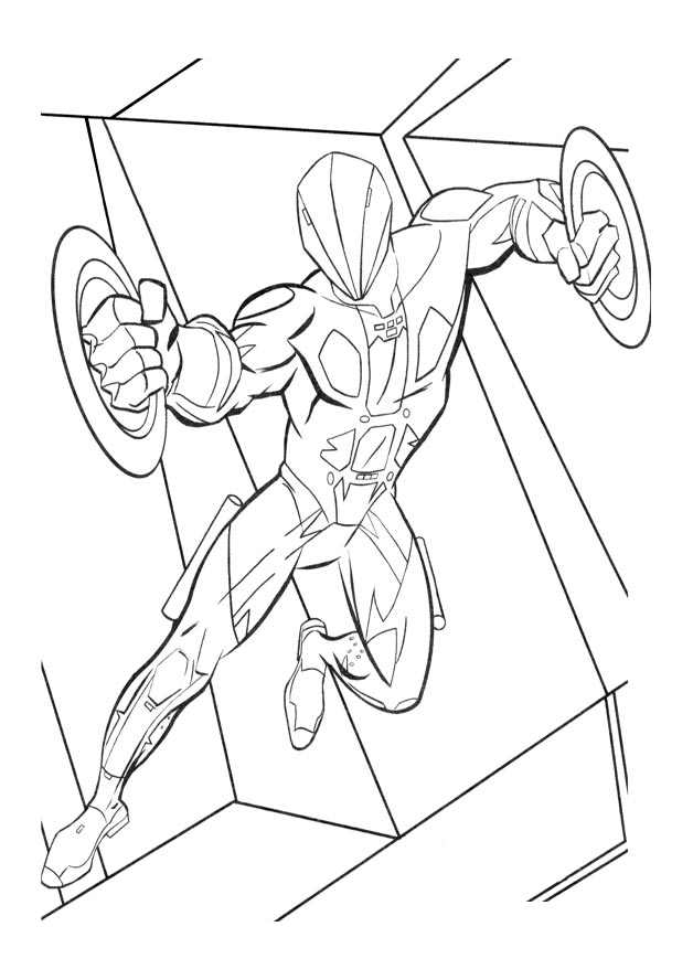 Tron Kids Coloring Pages
