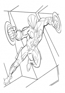 Coloring page tron to print for free
