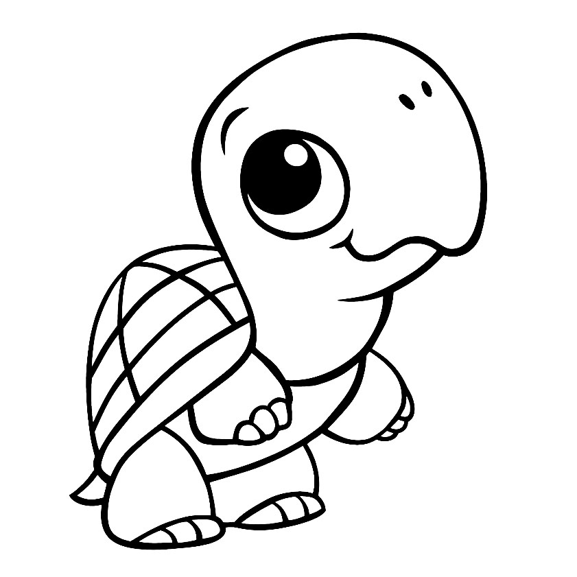 Turtles To Print For Free Turtles Kids Coloring Pages