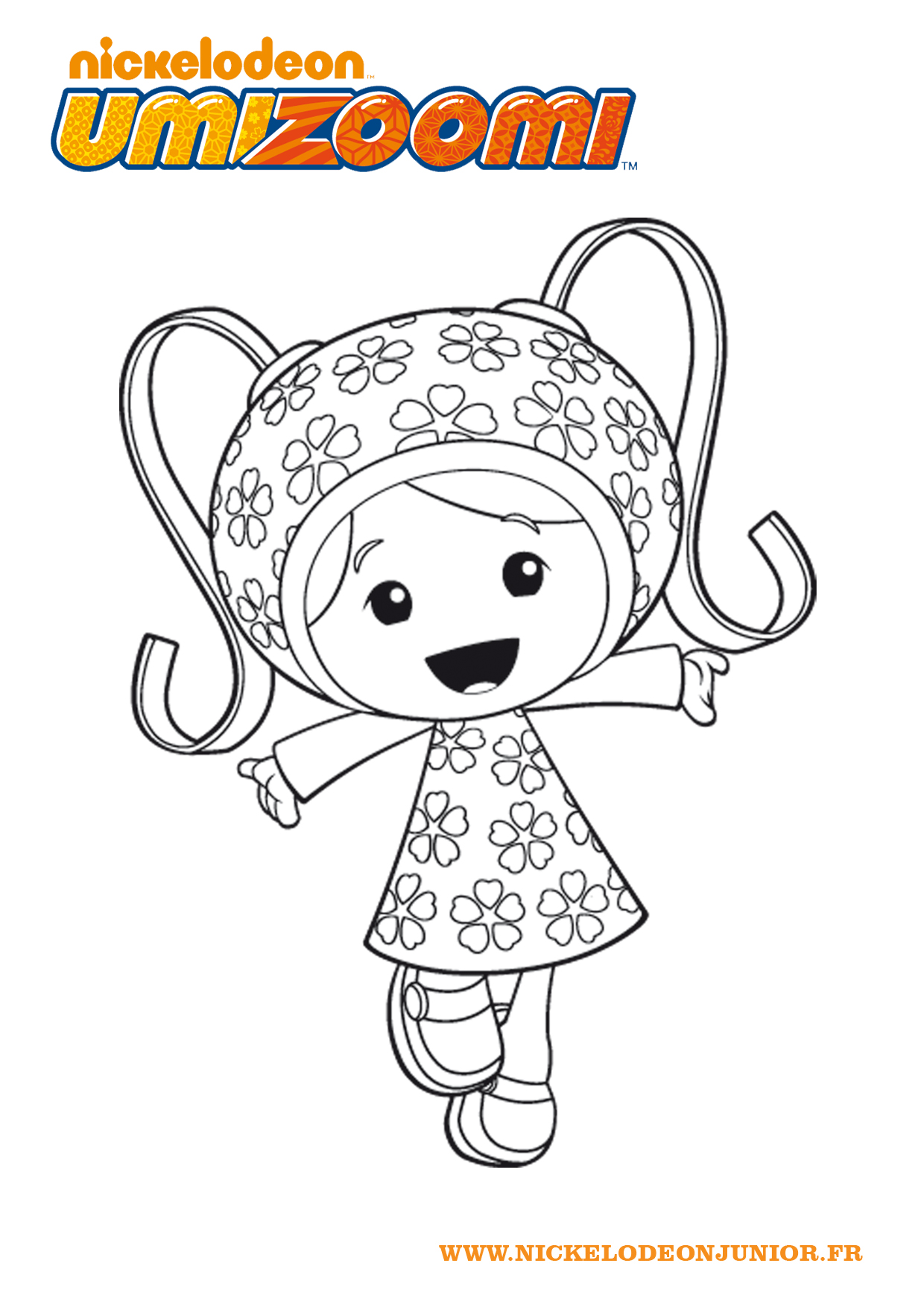 Simple Umizoomi coloring page