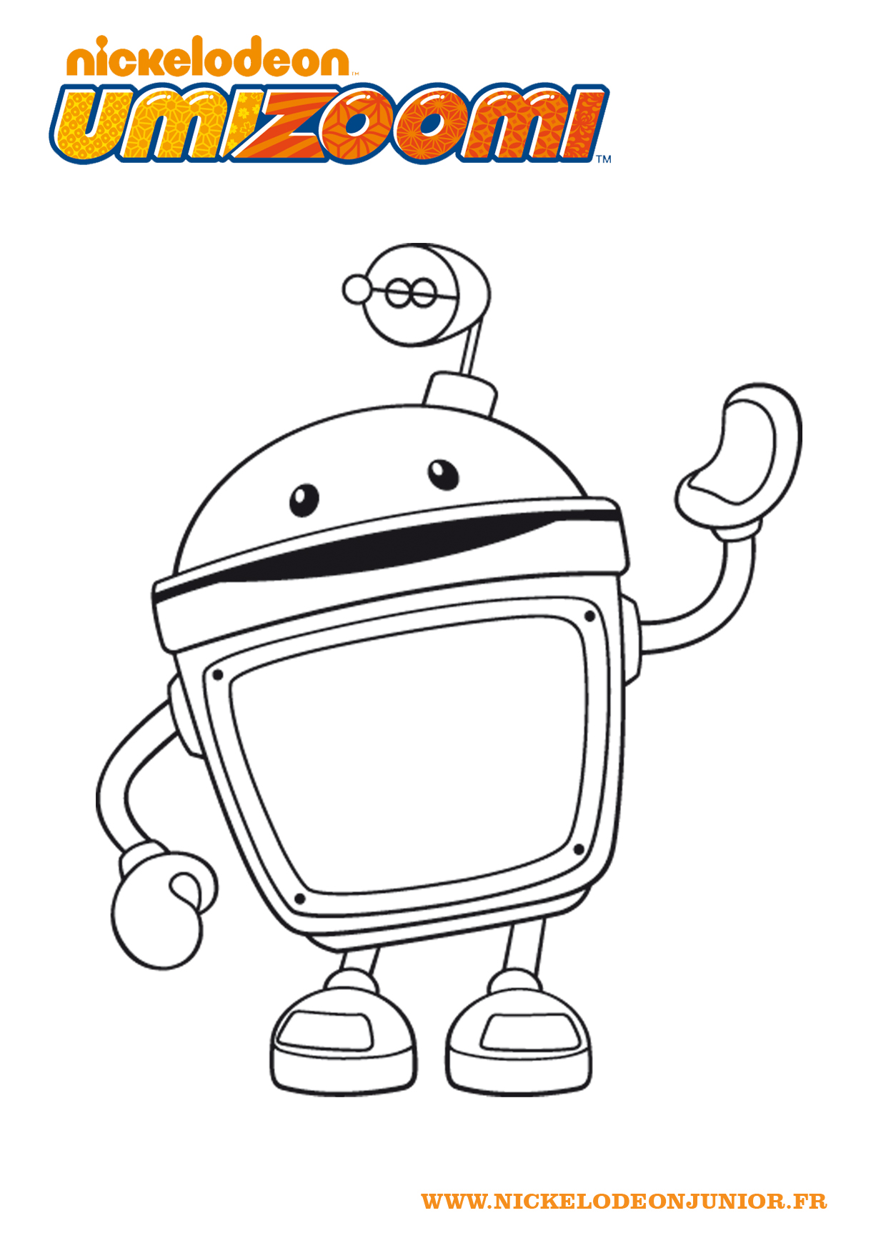Umizoomi free to color for kids - Umizoomi Kids Coloring Pages