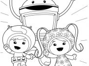 Umizoomi Coloring Pages for Kids