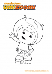 Coloring page umizoomi for kids