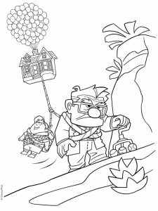 Coloring page up to color for children
