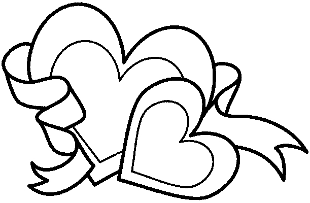 Incredible Valentines Day coloring page to print and color for free