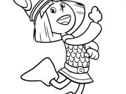 Vic The Viking Coloring Pages for Kids