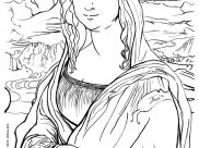 Leonardo da Vinci Coloring Pages for Kids
