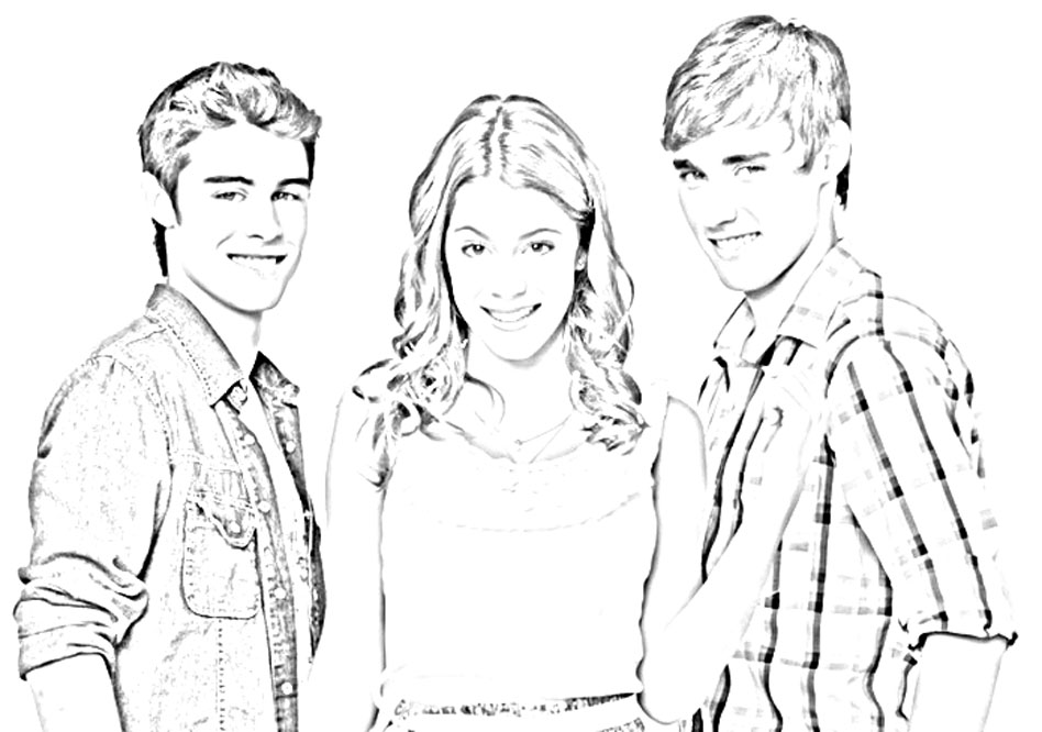 Violetta Coloring Page To Download