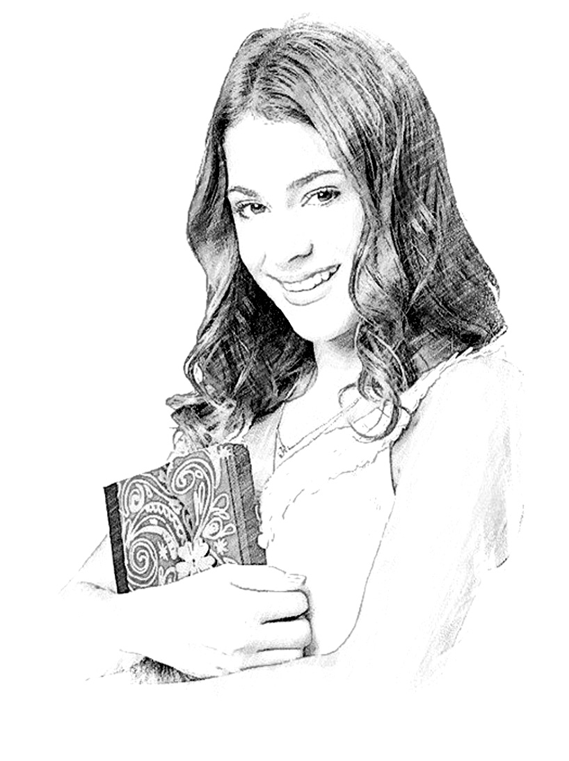 Violetta Free To Color For Kids Violetta Kids Coloring Pages