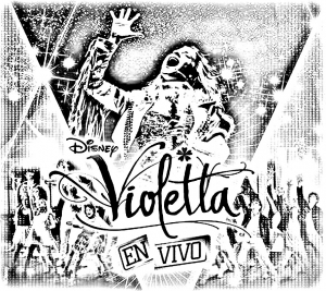 Coloring page violetta free to color for kids