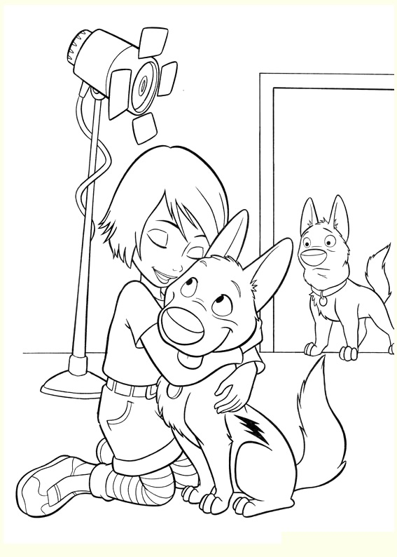 Simple Volt coloring page to download for free