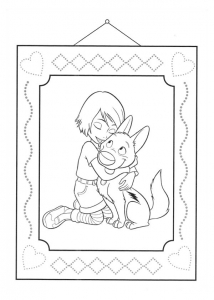 Coloring page volt to download for free
