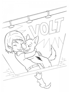 Coloring page volt to print