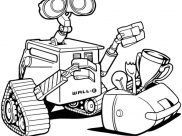 Wall E Coloring Pages for Kids