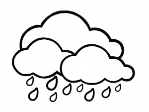 Coloring page weather to print for free