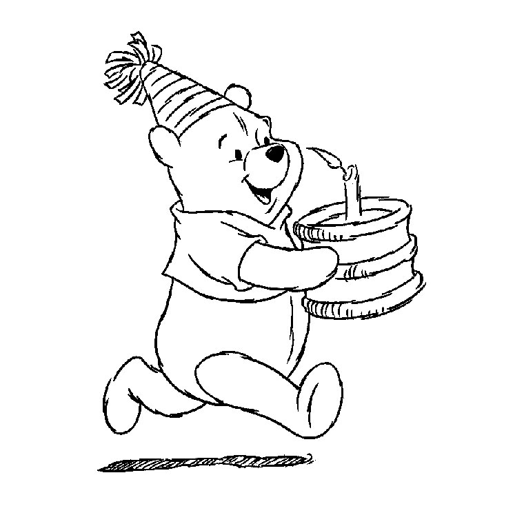 - Winnie The Pooh To Download For Free - Winnie The Pooh Kids Coloring Pages