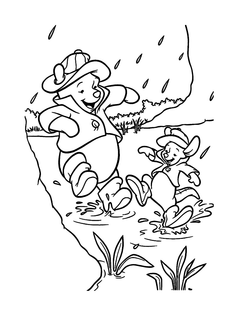 Winnie the pooh to color for children - Winnie The Pooh Kids ...