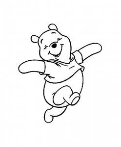 Coloring page winnie the pooh to download for free