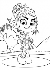 Coloring page wreck it ralph to color for kids