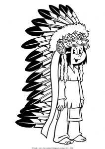 Coloring page yakari free to color for kids